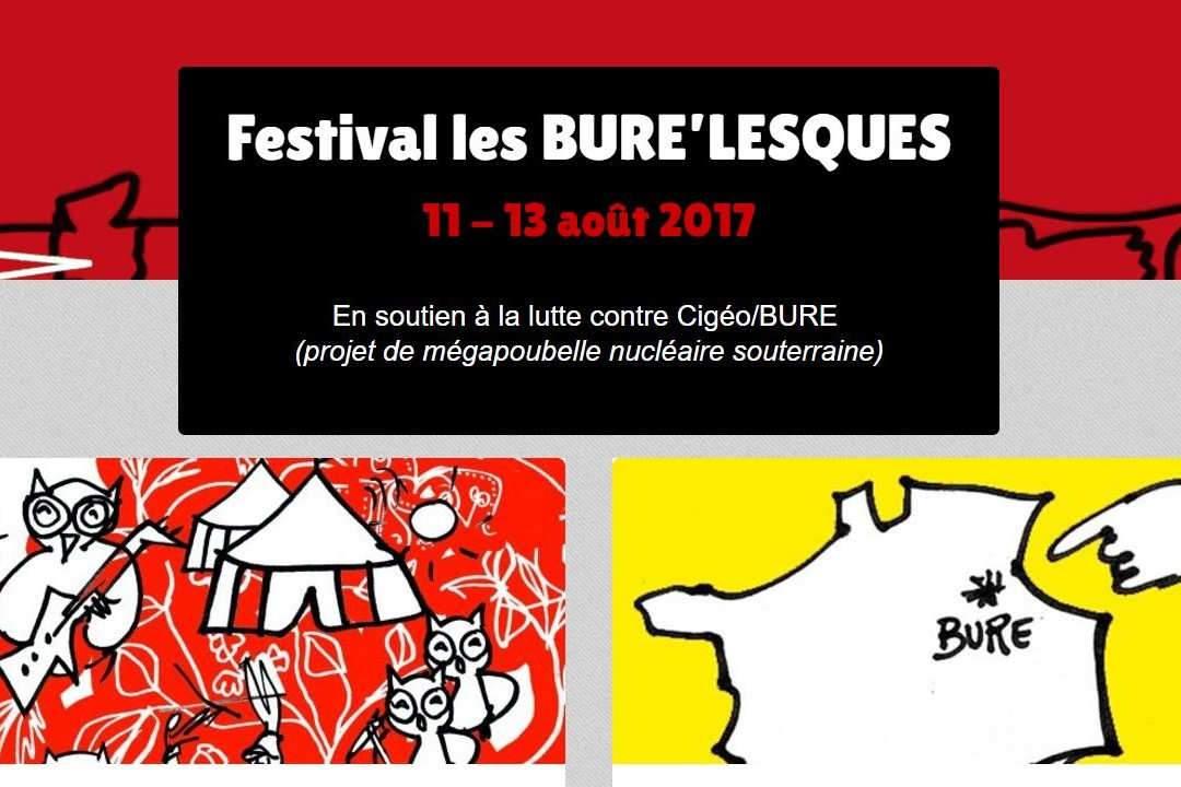 Du 11 au 13 août, festival contre l'enfouissement des déchets radioactifs à Bure