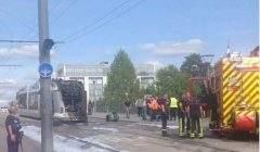 Incendie du Tram (twitter)