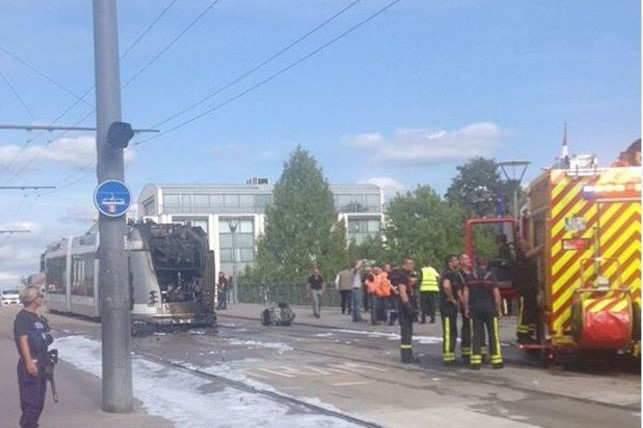 Nancy: le réseau tram perturbé à cause d'un incendie
