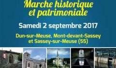 Marcher pour découvrir l'histoire de la Meuse (affiche)