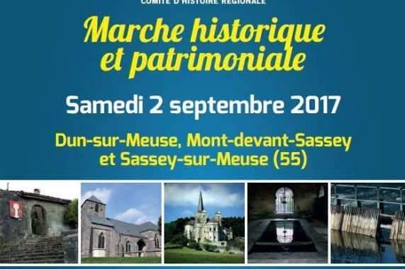 Marcher à la découverte de l'Histoire autour de Dun-sur-Meuse (55)
