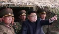 Nouveaux tirs de missiles de la Corée du Nord (capture)