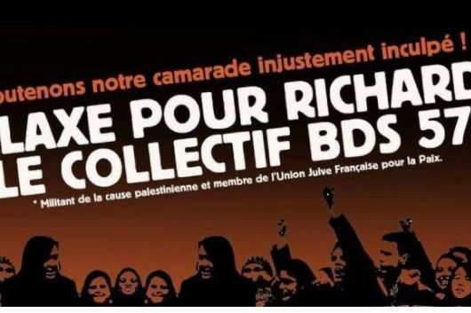 Rassemblement devant le tribunal de Metz