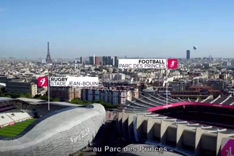 Des structures idéales pour les sports collectifs (photo: Paris 2024)