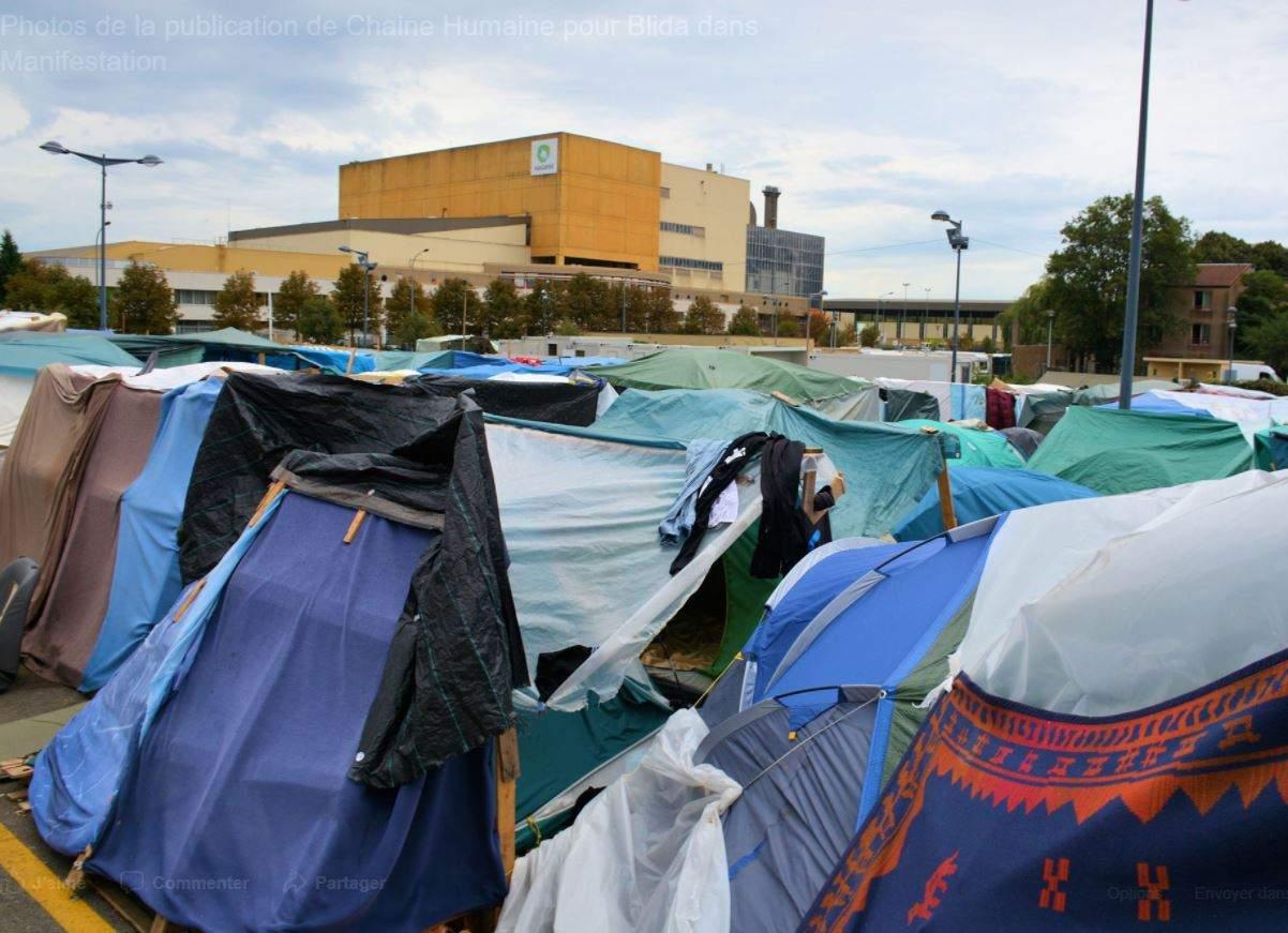 Metz: chaîne humaine pour Blida