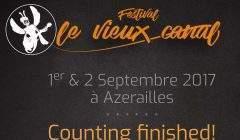 L'affiche du festival d'Azerailles
