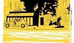 """""""Illustration du film La Volante par Théo-D pour Les Bobines de l'Est. Les Bobines de l'Est"""