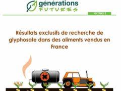 Générations Futures tire la sonnette d'alarme sur cet herbicide largement utilisé en France