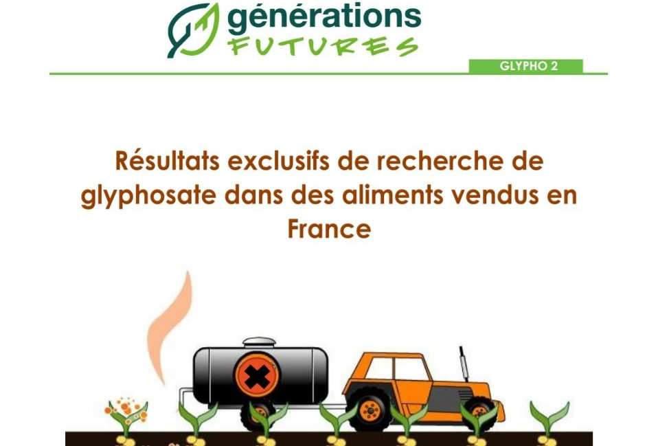 Interdiction du glyphosate en France au plus tard dans trois ans