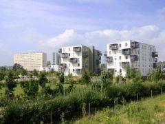 Nancy-Logements sociaux sur le plateau de Haye, à Nancy. Alexandre Prévot/Wikimedia, CC BY-SA