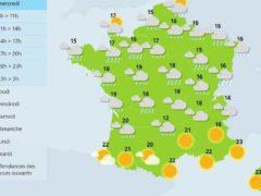 Alerte météo dans 7 départements (Météo France)