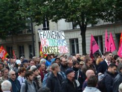 Manifestation « contre les ordonnances Macron », Paris, 12 septembre 2017. Jeanne Menjoulet / Flickr, CC BY