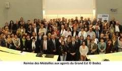 1.120 médailles du travail au Conseil régional Grand Est