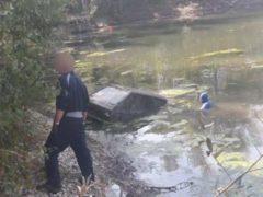 Voiture retrouvée 38 ans après au fond d'un étang de la Marne