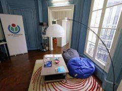 Wikimedia France, bureaux dans la rue de Cléry, à Paris. Pierre-Yves Beaudouin/Wikimedia, CC BY-SA