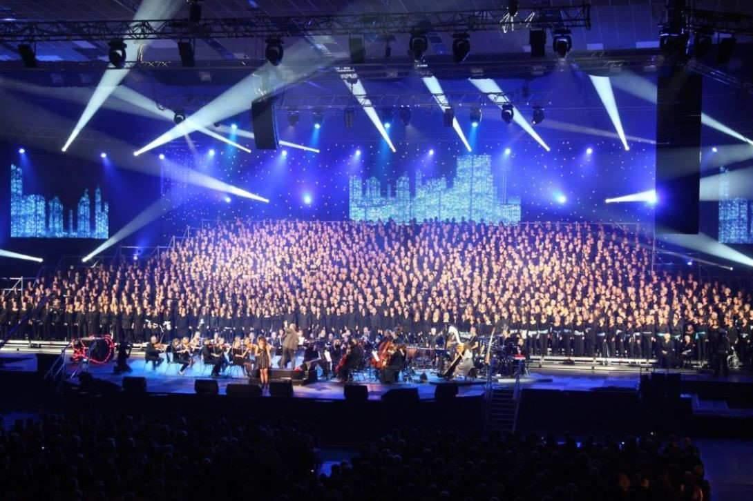 2.000 Choristes au Galaxie à Amnéville