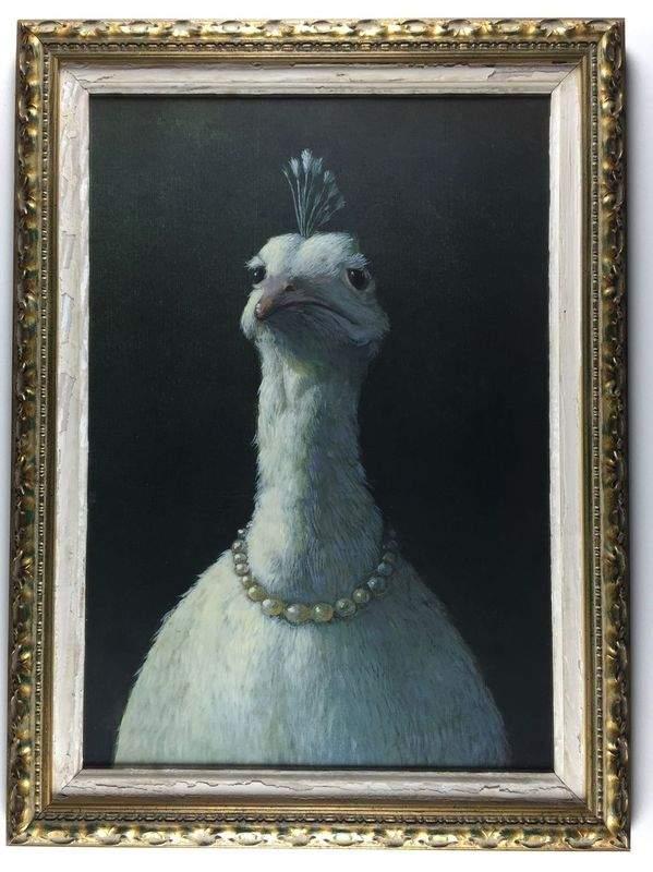 """L'oie aux perles (""""Amélie"""")."""