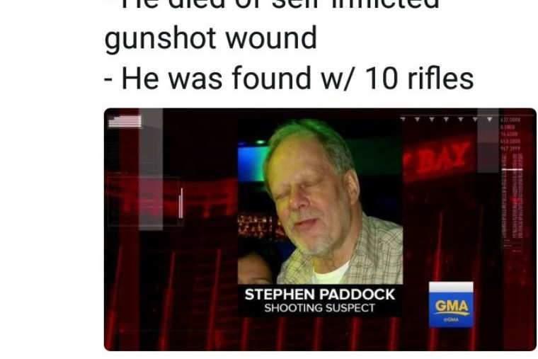 Le tireur présumé de Las Vegas (Facebook)