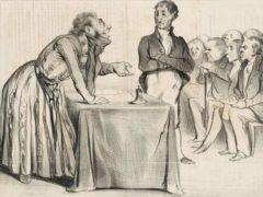 L'assemblée générale d'actionnaires vue par le journal satirique Le Charivari (30 septembre 1836). Il est temps de changer la définition de l'entreprise du code civil. Ashley Van Haeften /Flickr / Wikimedia commons, CC BY