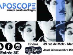 Aposcope : des soirées courts métrages dans le Grand Est