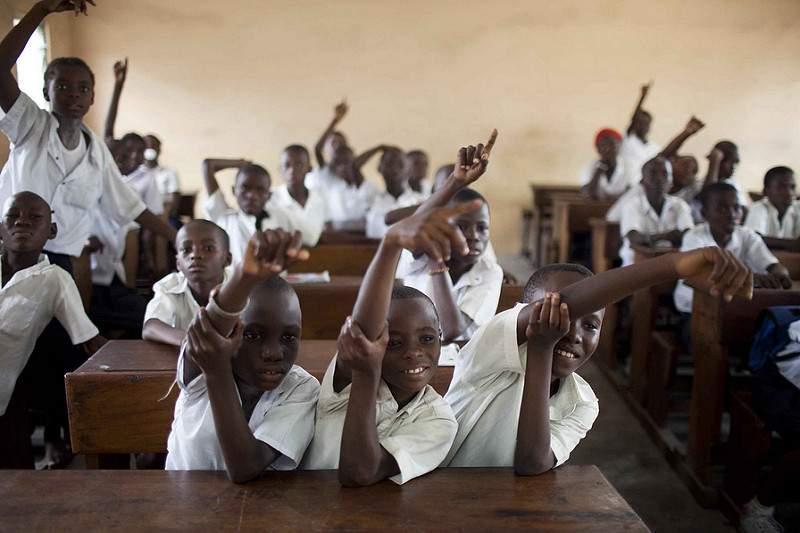 A l'école, les élèves parlent français Photo credit: World Bank Photo Collection via VisualHunt.com / CC BY-NC-ND