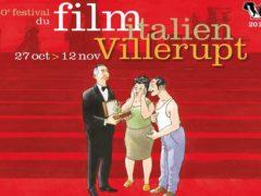 Affiche du 40ème Festival du film italien de Villerupt (54)