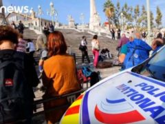 Une attaque terroriste à Marseille: deux jeunes femmes tuées au couteau (capture EuroNews)