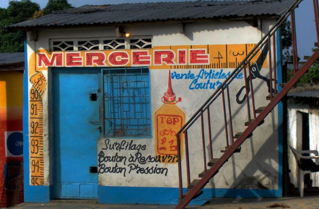 Une mercerie de Kinshasa (Photo credit: Irene2005 via Visual hunt / CC BY)