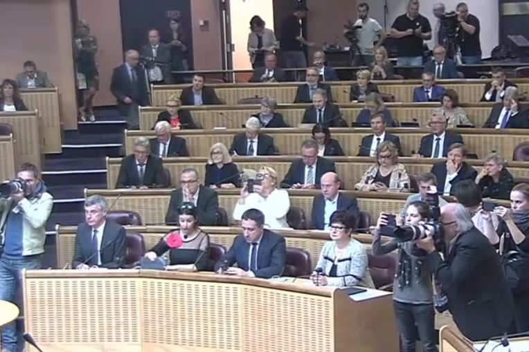 Séance plénière du Grand Est pour élire le nouveau président