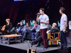 Finale du concours de start-up pendant l'événement LeWeb 2014. Dans le jury, la fine fleur de l'entrepreneuriat français. LeWeb/Flickr, CC BY