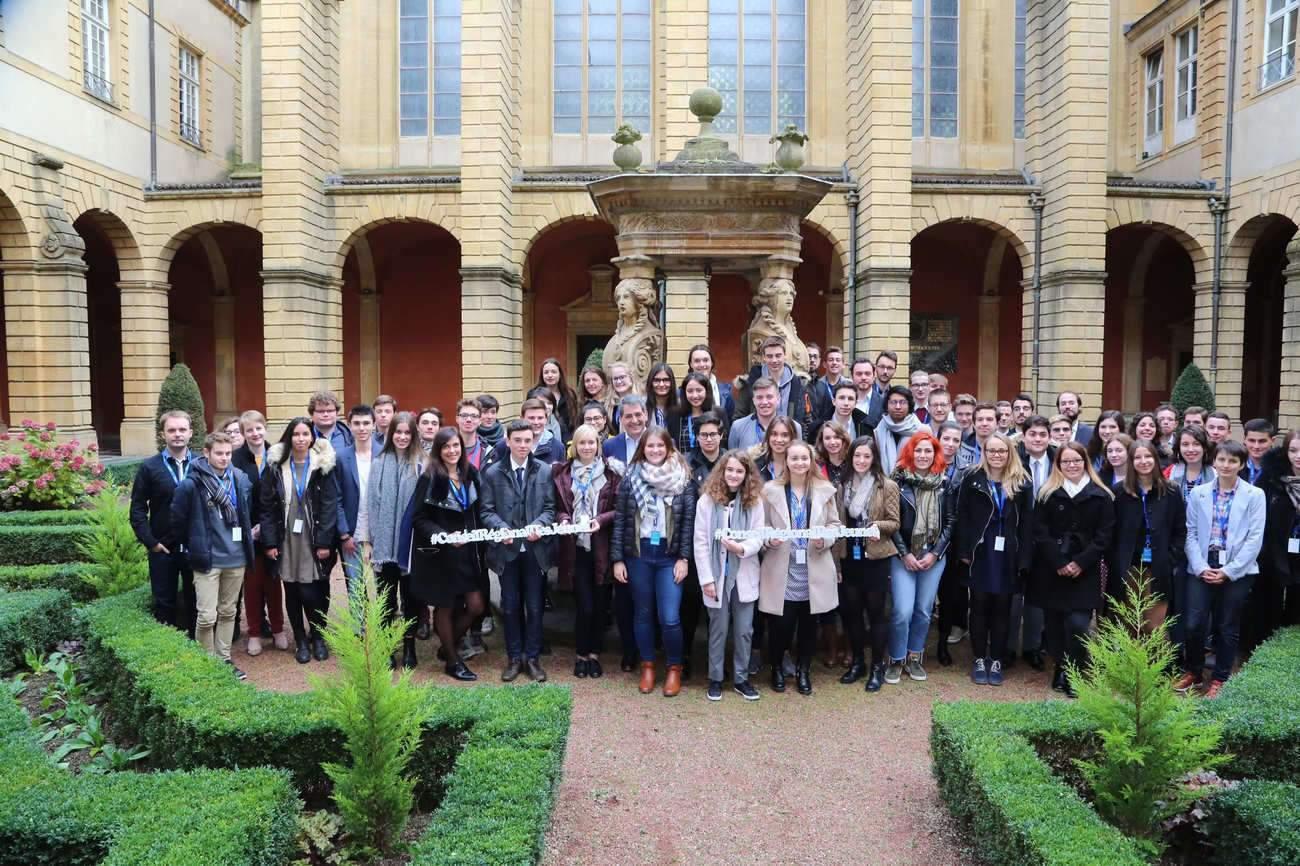 Conseil régional des Jeunes du Grand Est 1 et 2 : Les membres du Conseil régional des jeunes du Grand Est