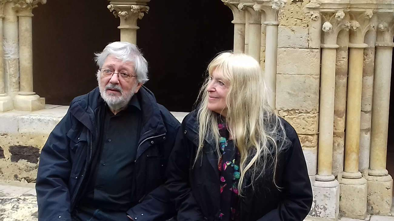 """Jacques Tardi et Dominique Grange à l'Abbaye Royale de l'Epau : """"L'humanité n'en a pas fini avec la guerre""""."""