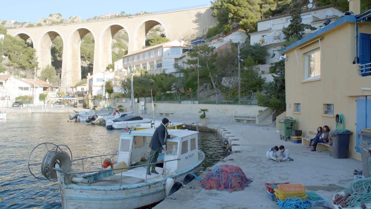 """La calanque de Méjean, où a été tournée """"La Villa"""", un coin de paradis."""
