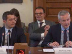 Bruno Lemaire et Gérald Darmanin (capture Public-Sénat)