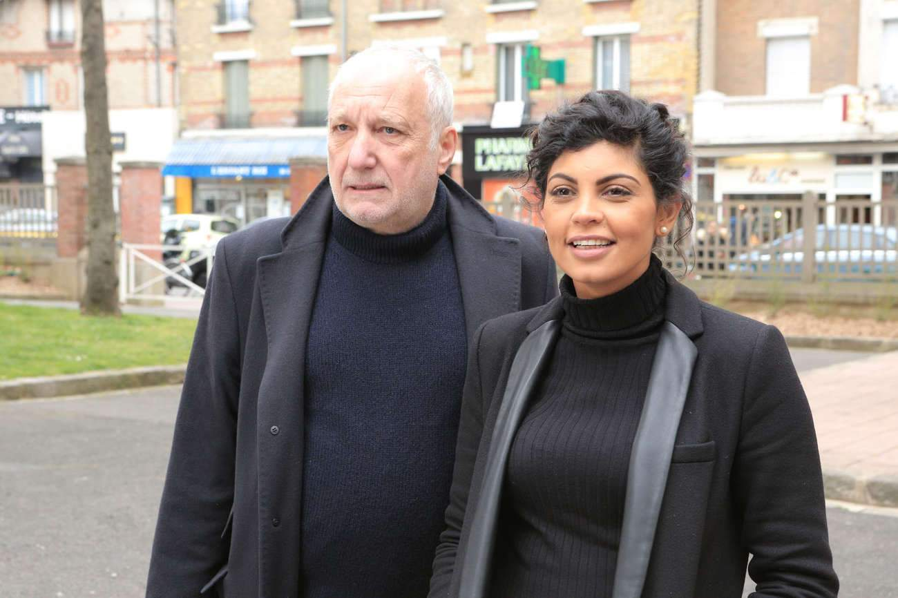 """Nawell Madani avec François Berléand : """"C'est un nounours grincheux"""", dit-elle."""