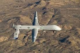 Drone en mission
