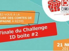 Finale du concours ID Boite le 21 novembre à Reims