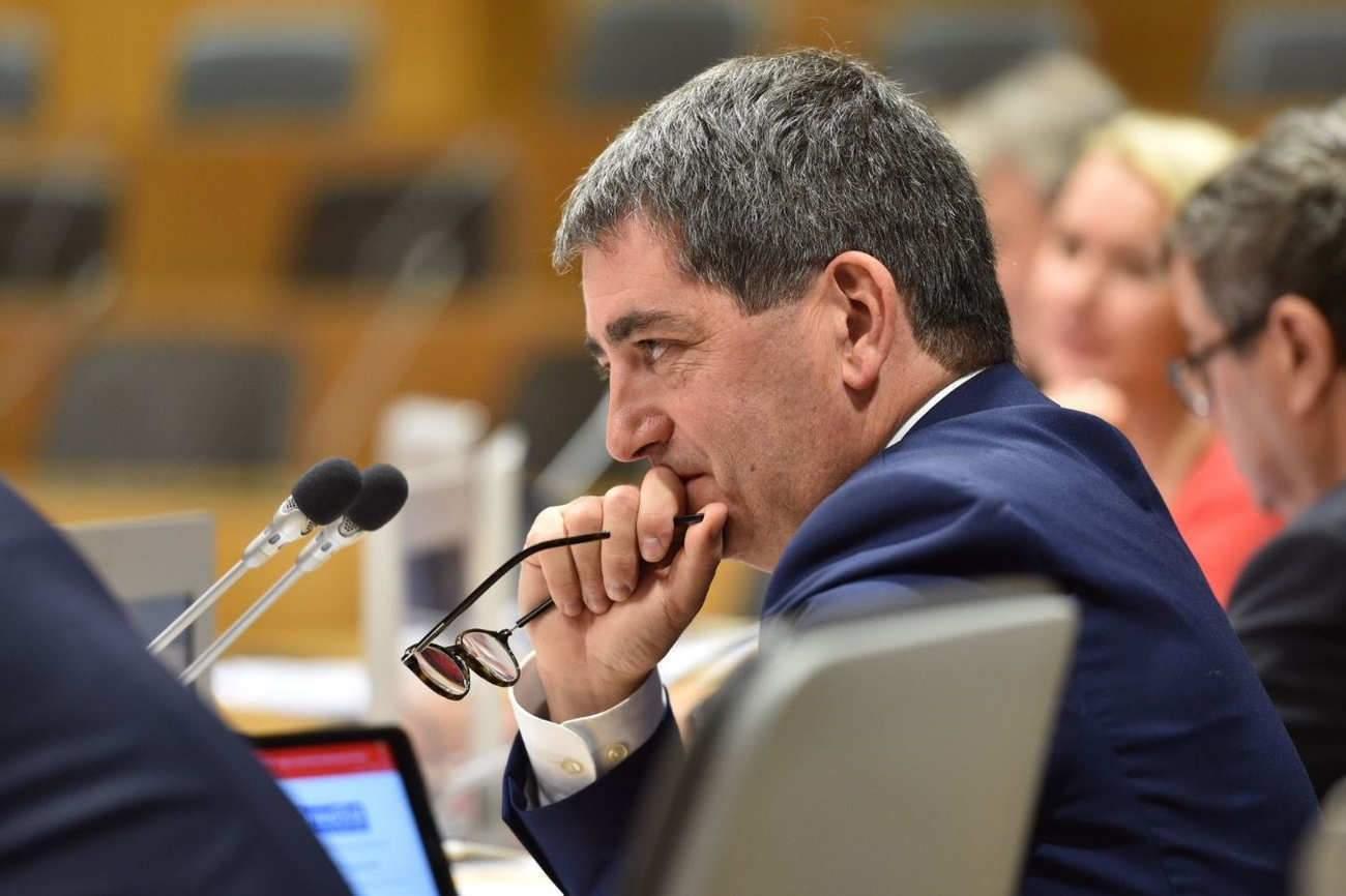 Le conseil régional présidé par Jean Rottner (Photo Région GE)