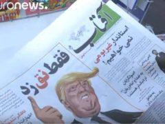 La presse iranienne déchaînée contre Trump (capture Euronews)