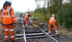 Des travaux sur la voie (photo SNCF)