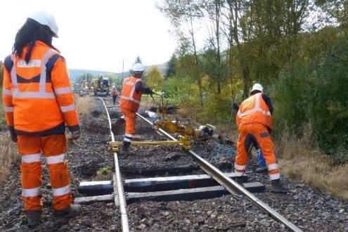 Remise à niveau des lignes régionales SNCF