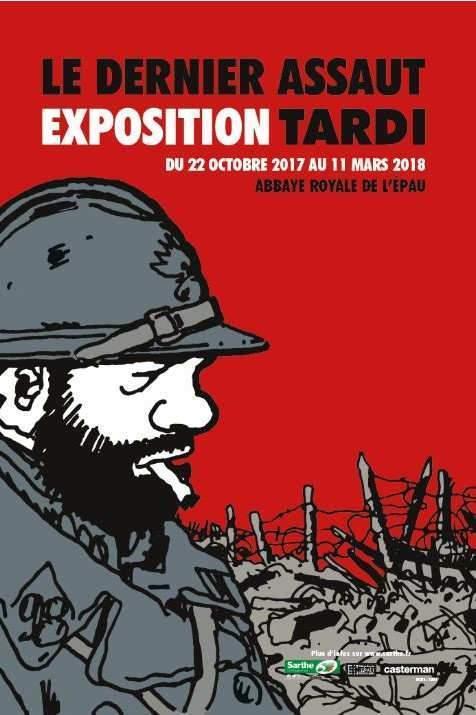 Exposition Tardi : le dernier assaut