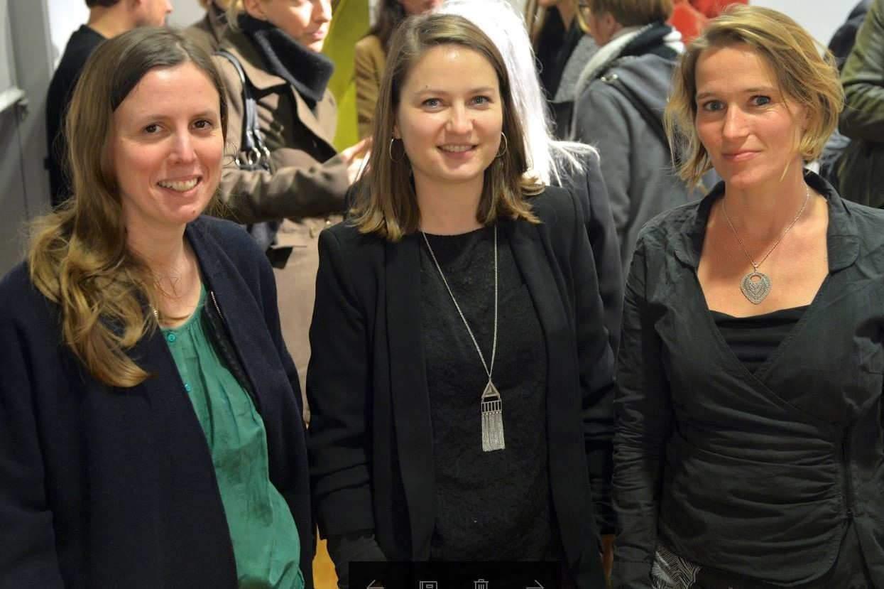 Felizitas DIERING, Fanny GONELLA et Marie GRIFFAY (photo Stadler, Région Grand Est)