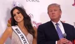 Donald Trump et miss univers (Capture Latino Vicente)