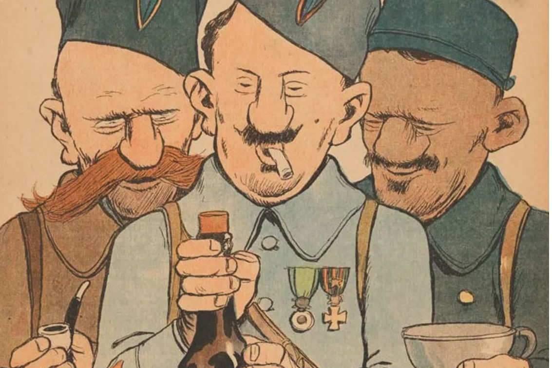 Une du journal La Baïonnette, numéro du 14 décembre 1916.