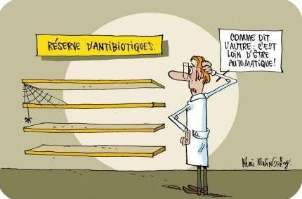 Les «vieux» antibiotiques peuvent encore servir!