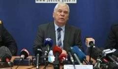 Jean-Jacques Bosc, procureur général de Dijon au cours dune conférence de presse (capture BFM TV)