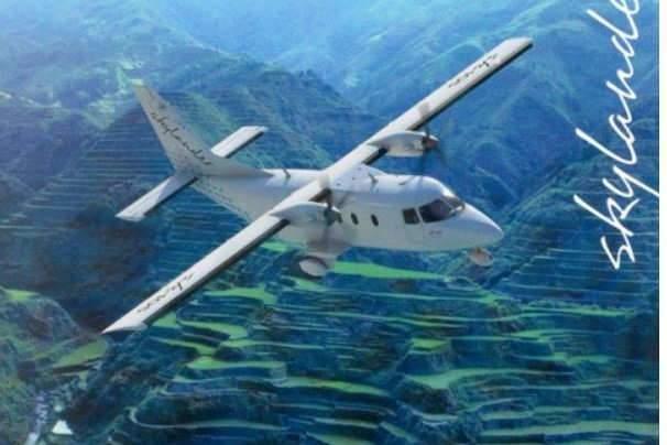 Un avion tout-terrain qui n'a pas réussi à décoller