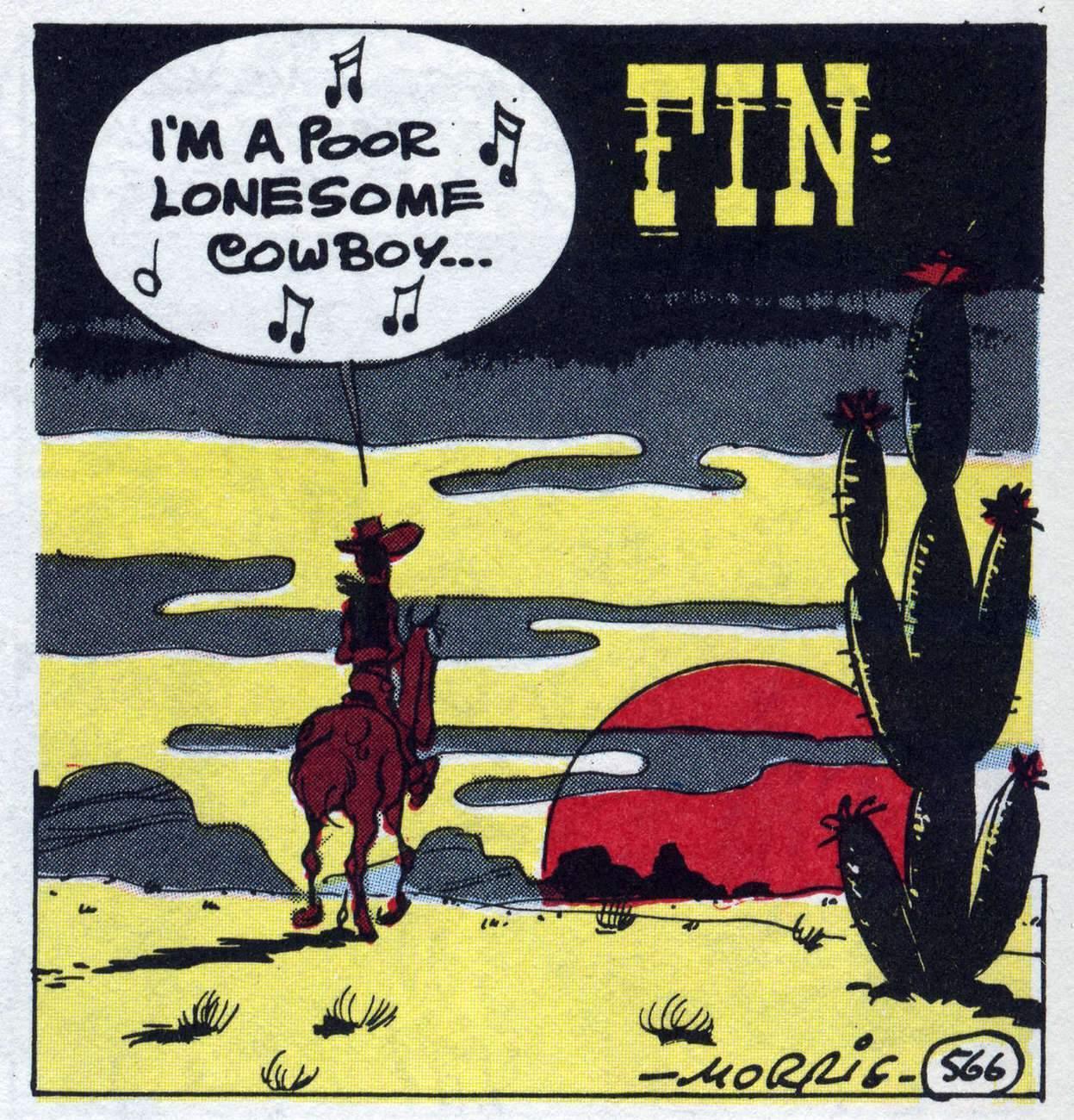 Lucky Luke, le poor lonesome cowboy (Lucky Comics).