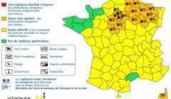Alerte à la neige et au verglas dans 21 départements pour dimanche 3 décembre 2017 (Météo France)